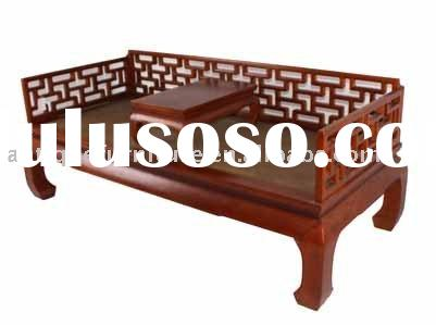 Chinese opium bed furniture,Antique reproduction furniture