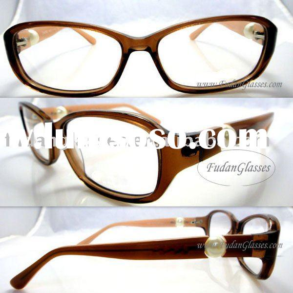 Fast&Free shipping designer frames acetate eyewear frame cheap optical frames CH3306 Brown insid