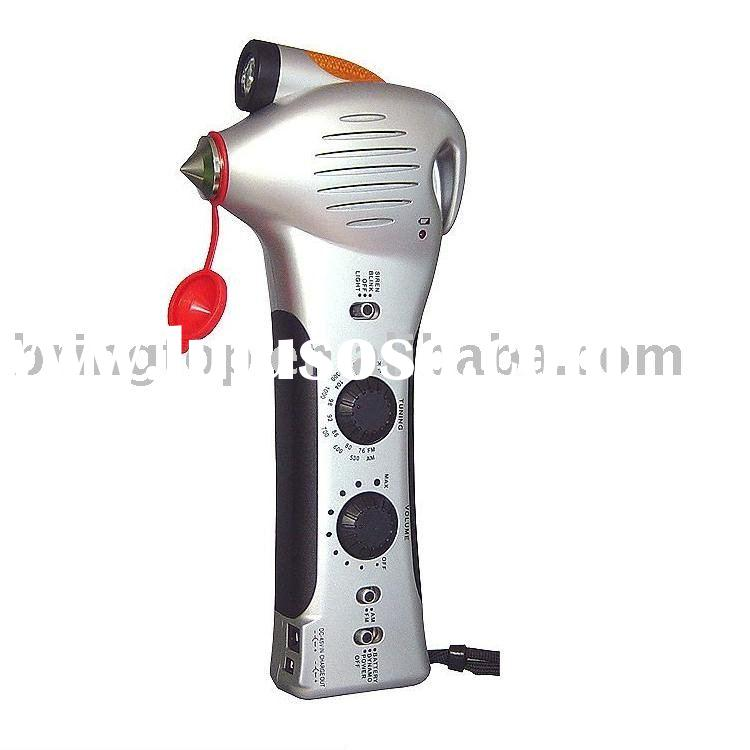 Hand crank emergency tools for auto (BR959)