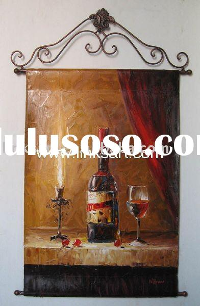 Iron Frame @ Oil Painting