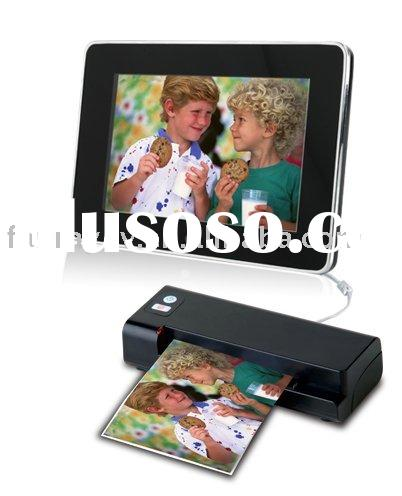 Photolink One-Touch Scanner and digital photo frame