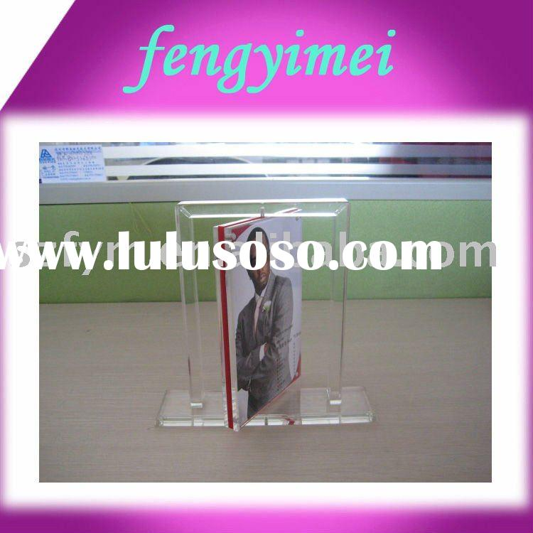 Rortating   Clear Acrylic  Photo Frame,Picture Frame FYM- PFD0066090
