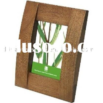 Stocklot/Stock lots/Stock wooden photo frame/wood pic frames/picture frame in bulk+Factory from Chin