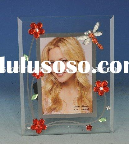acrylic glass photo frame,4x6 inch, funny picture frame