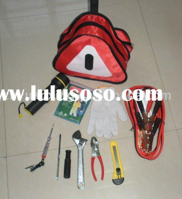 auto emergency tools, car emergency,kit,auto roadway kit