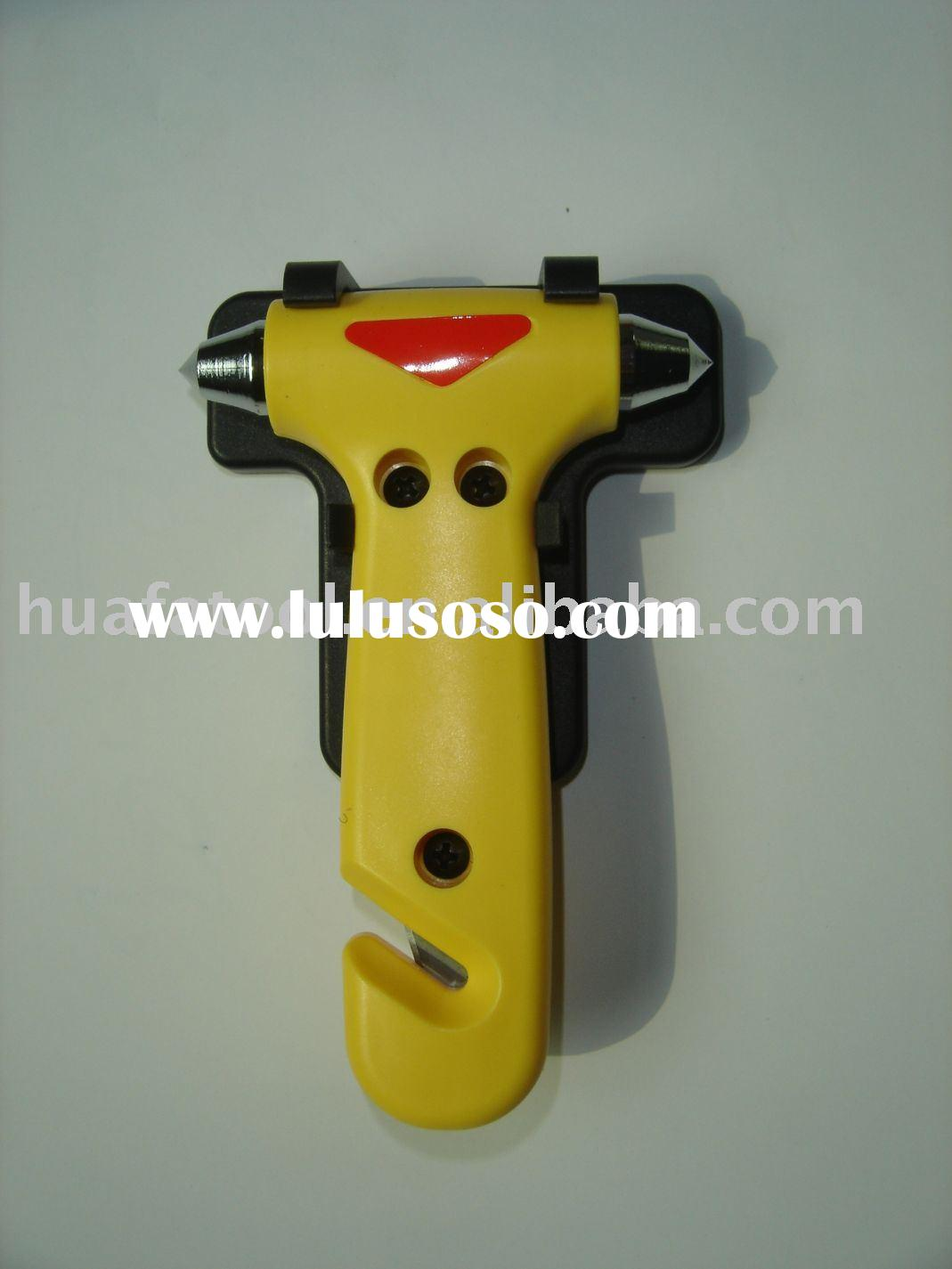 car emergency hammer,escape hammer,emergency tools,car hammer,led emergency hammer,hammer tool