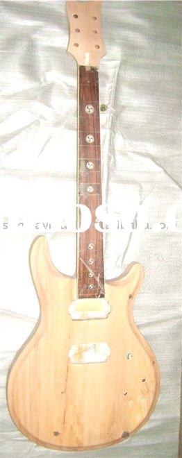 electric unfinished guitar