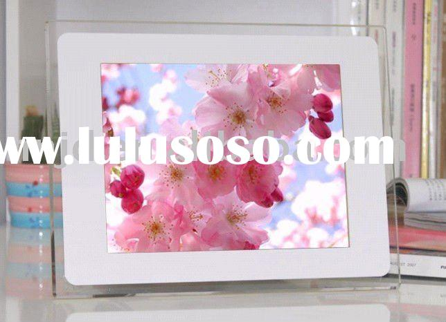 """good sale mysteriously white digital picture frame 15"""""""