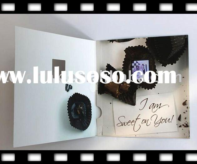 greeting card digital picture frame