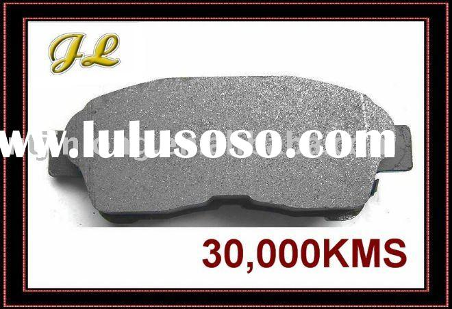 stable car brake pad with imported machines
