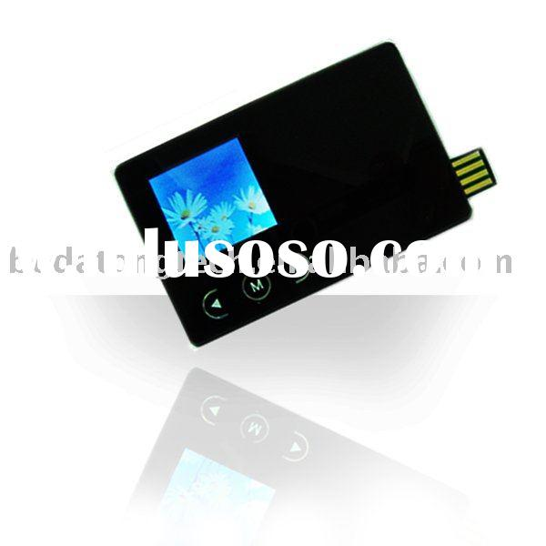 usb flash drive with digital photo frame, card usb disk with digital photo frame