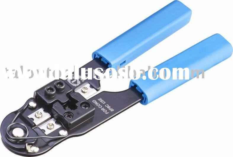 """7.9"""" crimping plier for western plug 8p8c/RJ45 available for round cable"""