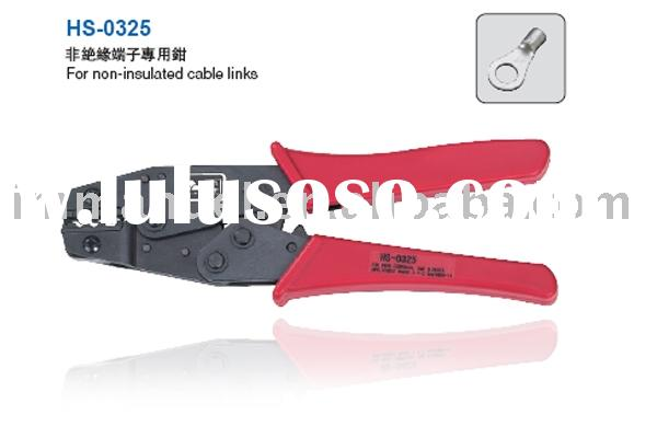 8'' Ratchet Crimping Plier Used For Non-Insulated Terminals(HS-0325)