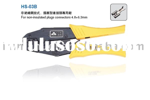 9'' Ratchet Crimping Plier Used For Non-Insulated Plugs Terminal(HS-03B)