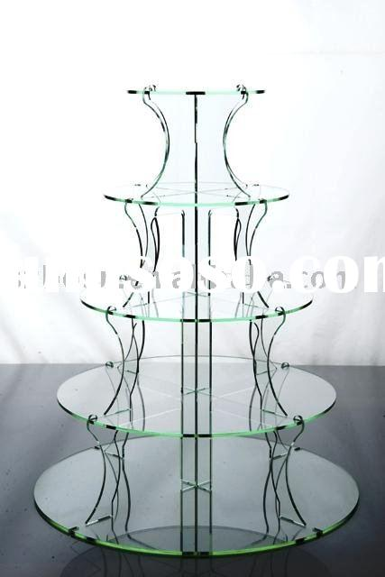 Acrylic Cupcake Stand,Perspex Bakery Display,Lucite Cupcake Display