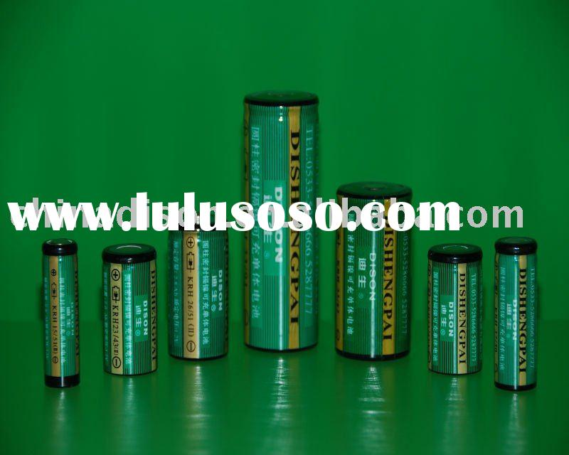 All types high temperature NiCD rechargeable battery cell used for emergency lighting