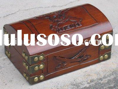 Antique solid wood chest and reproduction furniture