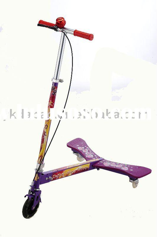 DaBao8181 3-Wheel Caster Scooter