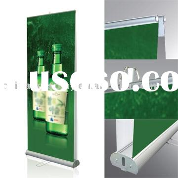 Deluxe Double-sided Roll Up Banner Stand Display