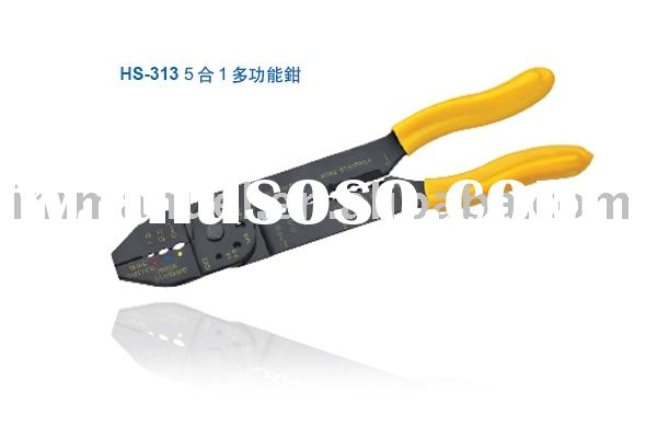 Multi-Function Ratchet Crimping Tool(HS-313)