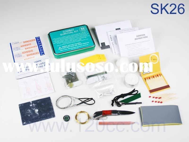 SK26 - LY Combat Survival Kit & Camping Emergency Tin & Adventure survival equipment