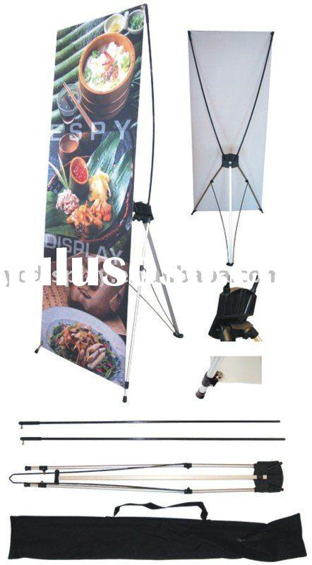 X pole banner stand