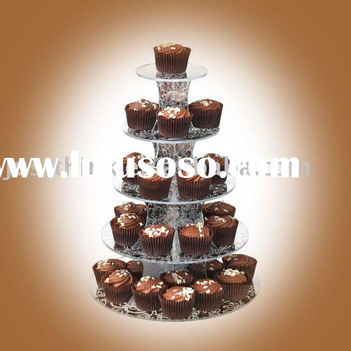 acrylic cupcake display stand