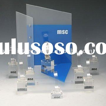 acrylic watch display stands, single watch display stands