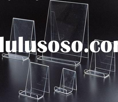 clear acrylic book easel, book holder