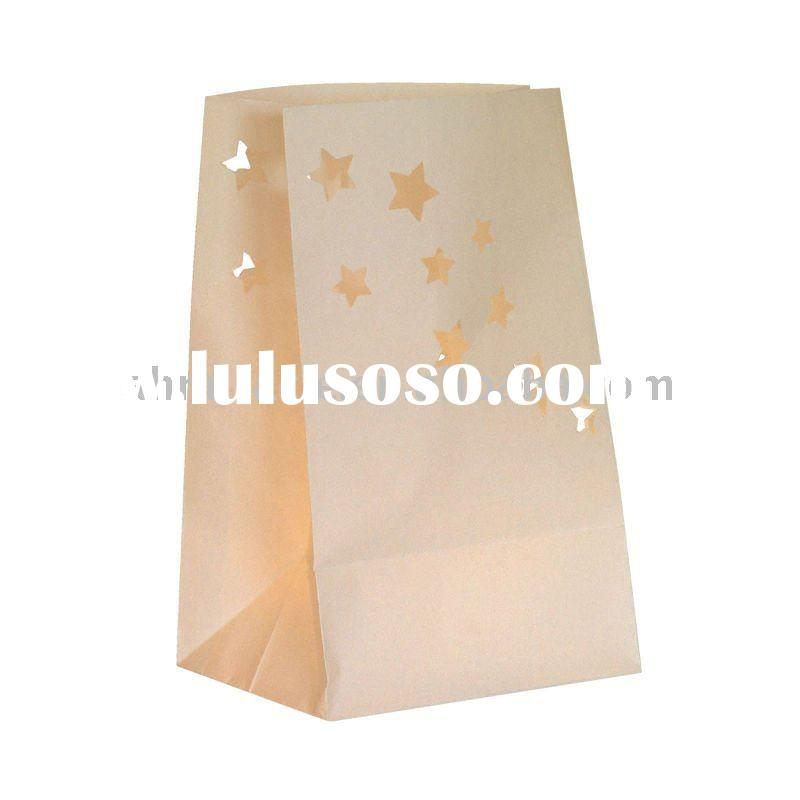 heart-shaped candle bags for 2011 wedding gift