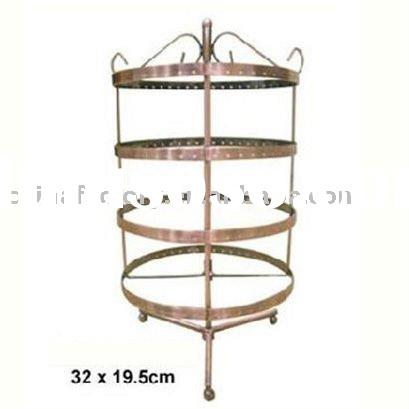 wholesale rotating earring jewelry display stand