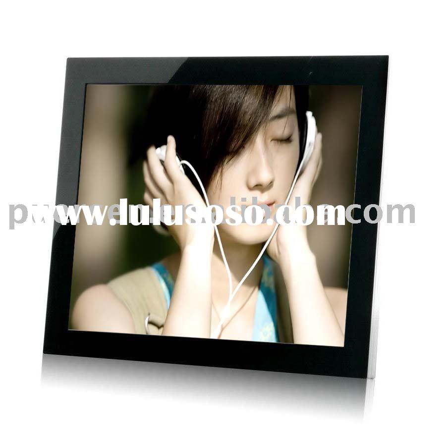 19-inch Multi-functional Digital Photo Frame with Wall Hanging