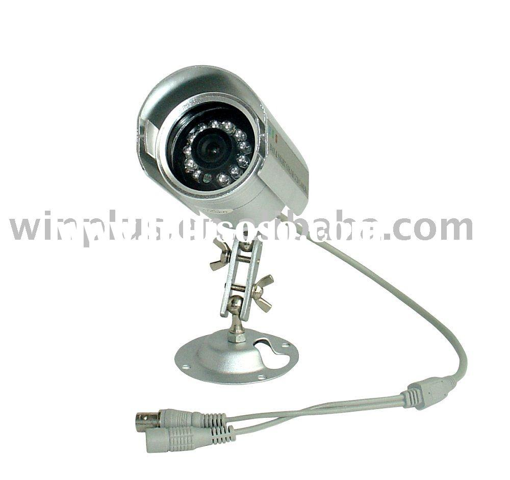 "1/4"" Sony HAD CCD, Sony DSP, 420TVL Color IR Outdoor Camera with Stand"