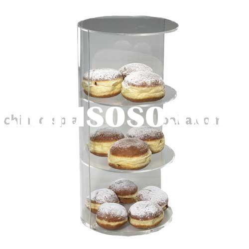 3 tier cake stand, 3 tier bakery display, acrylic cake stand