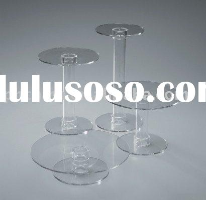4 Tiers Acrylic Cupcake Stand Set
