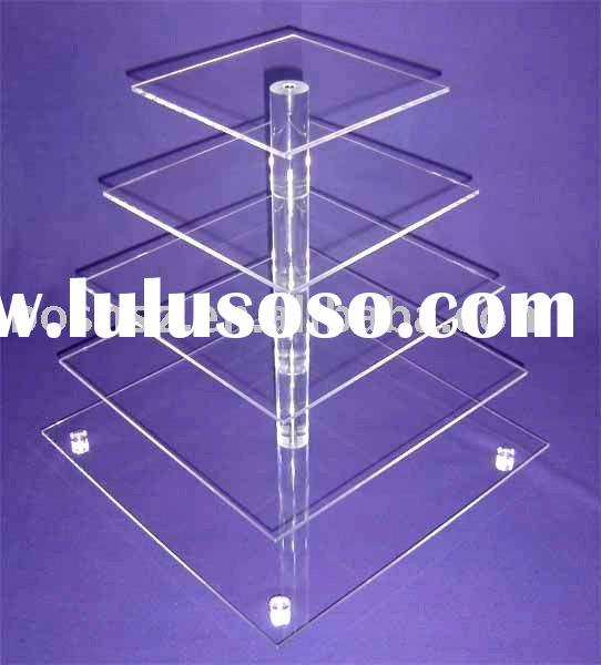 Acrylic Cupcake Stand,Perspex Bakery Display Stand,Lucite Pastry Display
