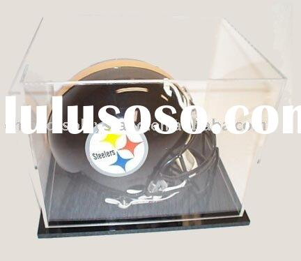 Acrylic Sports Products Display / Acrylic Sports Products Display / Acrylic Football Helmet Case