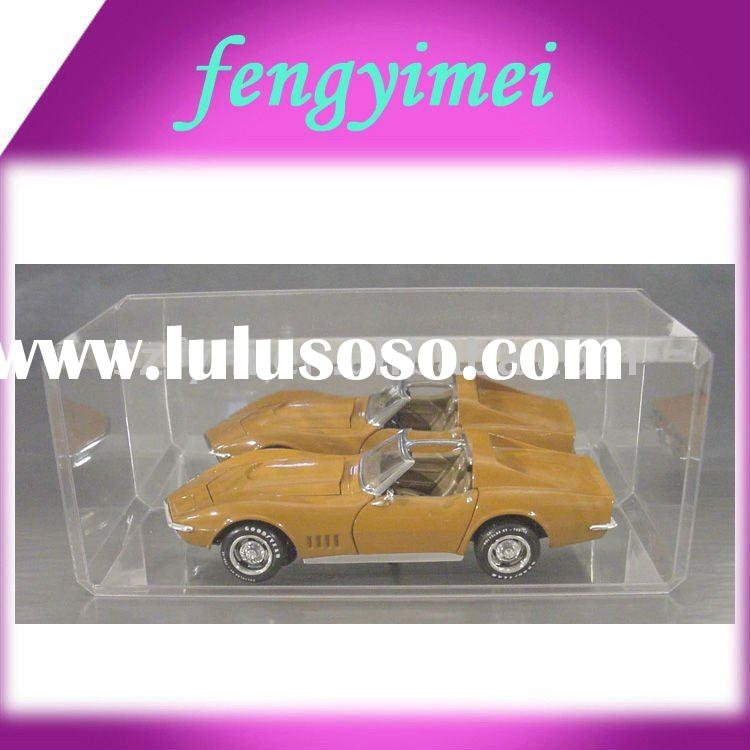 Acrylic display case for collectible,perspex mould car box,plexiglass case