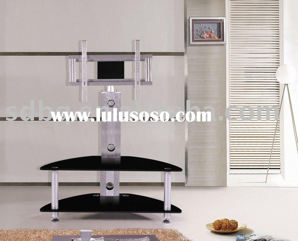 BQ-TV015 Stylish Black Corner TV Unit