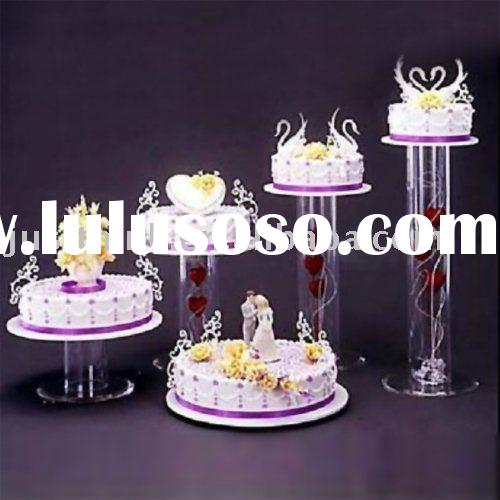 Custom Acrylic Display Cake Stand FZ-CKD10824