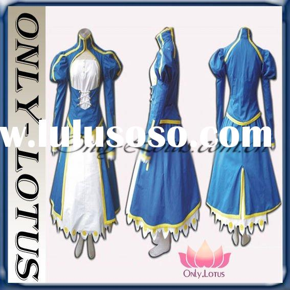 Fate stay night cosplay dress