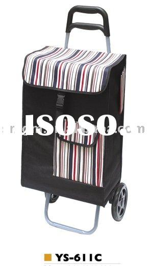 Folding Wheels Shopping Laundry Tote Bag Cart Trolley