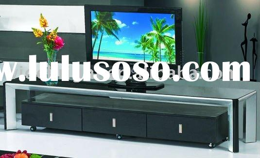 Functional flat tv stand