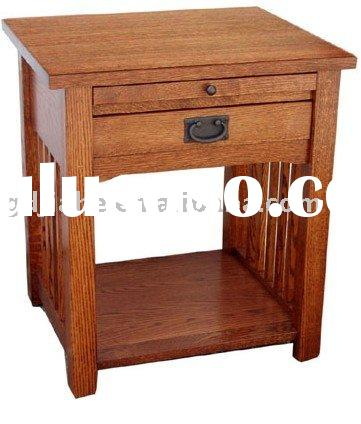 Home Style Bedroom Furniture One Drawer Night Stand