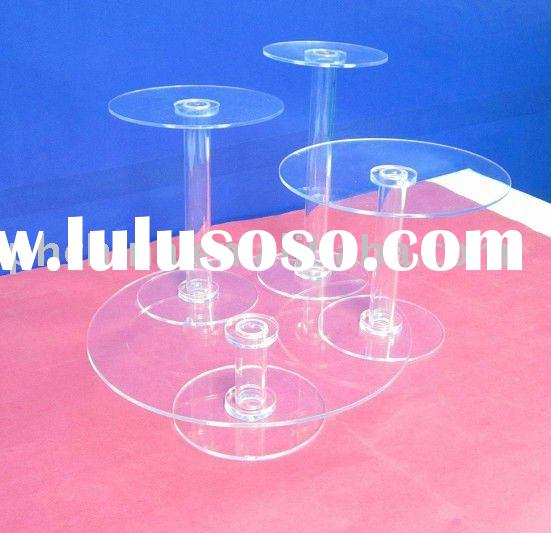 Hot sale !!! Acrylic Cupcake Stands,Acrylic Bakery & Pastry Holder