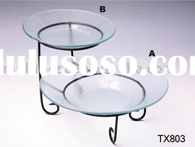 Iron Stand With Glass Plate