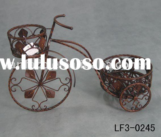 Outdoor Furniture Metal Plant Stand Iron Flower Holder