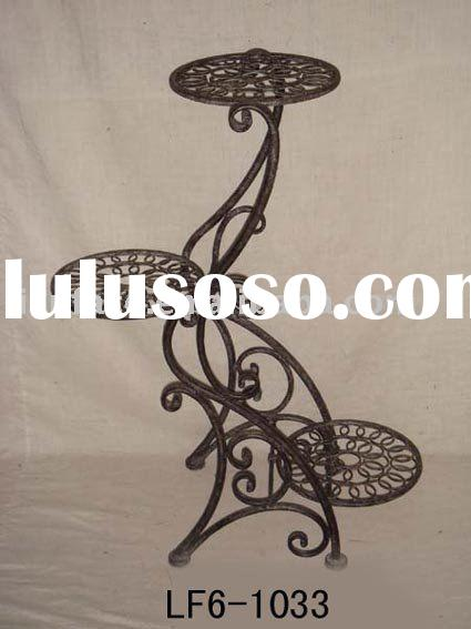 Outdoor Furniture Metal Plant Stand Stair Planter