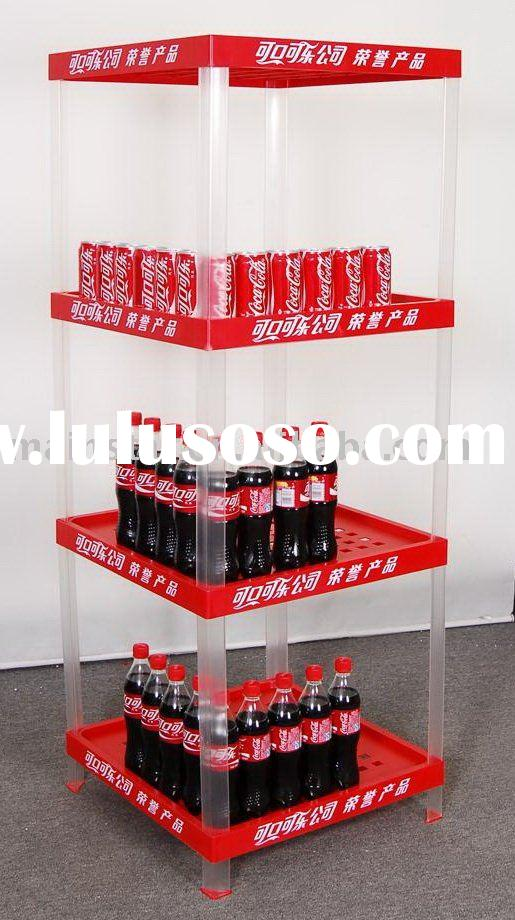 Plastic display stand for drinking (small)