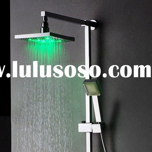 Rainfall LED Shower Faucet